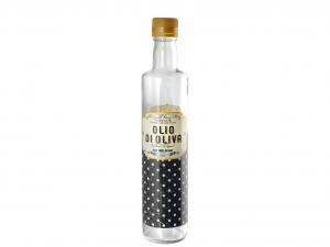 CERVE Bottiglia Vetro Retro' Olio Oliva 0,5 Arredo Casa