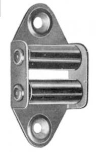 Set 25 Guidacinghia Verticale Zincato Ferramenta Accessori Per Avvogibili
