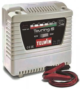 TELWIN Caricabatterie  Touring 15 12-24 V Utensileria
