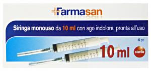 GABBIANO Siringa 15999 10 Ml 5 Pezzi Prodotto Parafarmacia E Cura Della Persona
