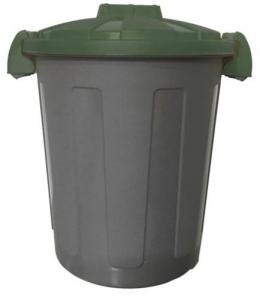 Bidone Immondizie Dusty Polipr. Lt 25 Coper. Verde