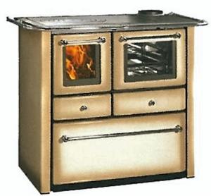 Cucina Legna Lincar Gaia 148 V Fucile Riscaldamento