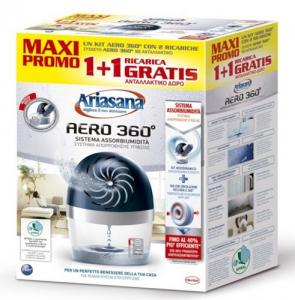 HENKEL Kit Aria Sana Aero 360┬░ + 2 Tab Grammi 450 Colori