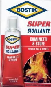 Mastice BOSTIK Nero Refrattario Super Sigillante Gr100 Colori