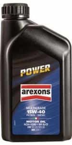 AREXONS Olio Motore  Power Multigrade 15W-40 Lt 1 Colori