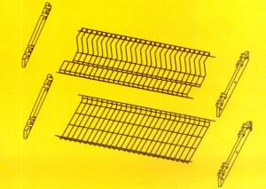 FILTEX Griglie per pensili crom con supporto 86 Utensili da cucina