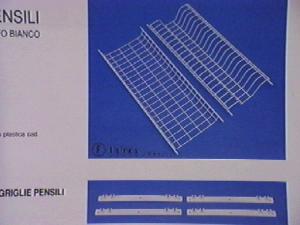 FILTEX Griglie per pensili plastica con supporto 80 Utensili da cucina