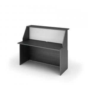 Modulo Reception Eco Con Postazione Lavoro Inferiore Cm. 140X76,1X117H