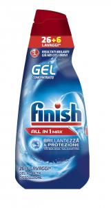 FINISH Powergel Tutto In Uno Regular - 650 Ml Gel Lavastoviglie Detersivi