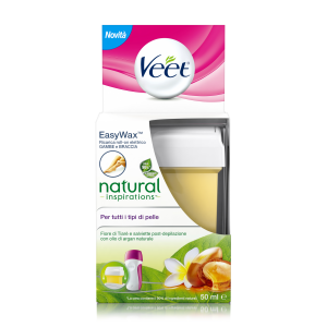 VEET Ricarica Roll-On Natural Inspirations Fiore Tiarè & Argan Oil 50 ml