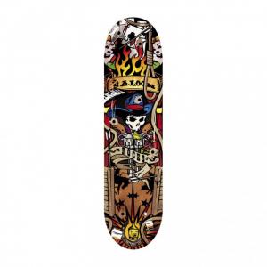 'ROCES Skateboard Adulto  31X8'' Cowboy  In Acero Porcellana 9 Strati Abec 1 Acciaio - 30516'