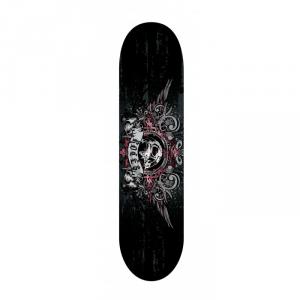 'ROCES Skateboard adulto  31x8'' SKULL 2200  in acero porcellana 9 strati abec 1 acciaio - 30570'
