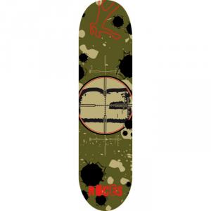 'ROCES Skateboard Adulto  31X8'' Gunsight  In Acero Porcellana 9 Strati Abec 3 Carbon - 30673'