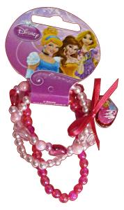 GABBIANO Bracciale Disney Princess Perle 36650 (36065) Accessorio Bambine E Ragazze