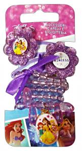 GABBIANO Collana + Clic Clac Disney Princess 36670 (36066) Accessorio Per Capelli