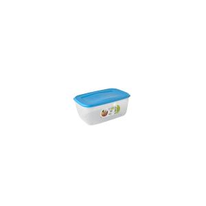 GIOSTYLE Contenitore Ermetico Alimenti Rettangolare Lt0.5 Tappo Azzurro