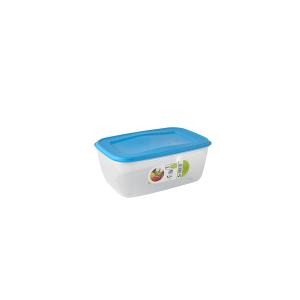 GIOSTYLE Contenitore Ermetico Alimenti Rettangolare Lt1.5 Tappo Azzurro