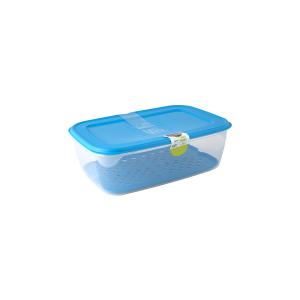 GIOSTYLE Contenitore Ermetici Rettangolare Lt6 Cong Azzurro Contenitori Cibo