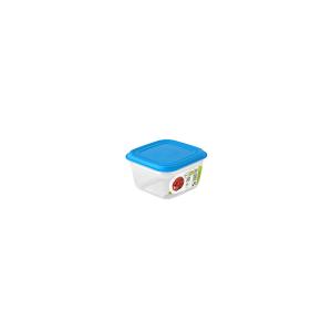 GIOSTYLE Contenitore Ermetici Quadrato Lt0.5 Tappo Azzurro Contenitori Per Cibo