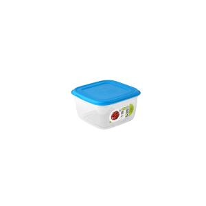 GIOSTYLE Contenitore Ermetici Quadrato Lt1.5 Tappo Azzurro Contenitori Per Cibo