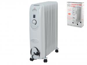 DCG Radiatore elettrico olio 9 elem 2000w Elettrodomestici per la casa