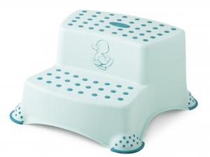 LULABI Sgabello Baby 2 Gradini Little Duck Verde Arredo Tavola