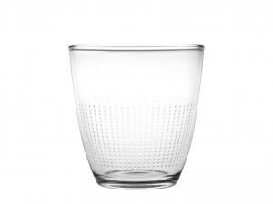 Set 8 CHIO Confezione 3 Bicchieri Vetro Pois 25 Cl
