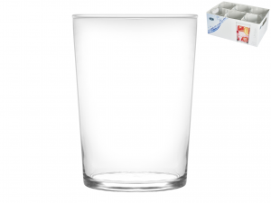 Set 24 CHIO Bicchieri In Vetro Unique 50 Cl