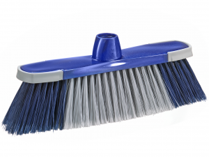 ESSEPLAST Scopa per interni antishock senza manico Attrezzi per le pulizie casa