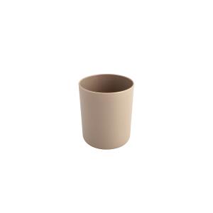 DEM Bicchiere Plastica Cc250 Tortora Arredo Tavola