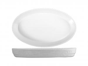 SATURNIA Pirofila Ovale Porcellana Cm28 Utensili Da Cucina