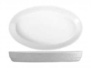 SATURNIA Pirofila Ovale Porcellana Cm36 Utensili Da Cucina