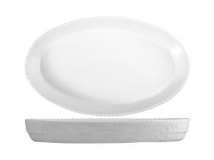 SATURNIA Pirofila Ovale Porcellana Cm32 Utensili Da Cucina