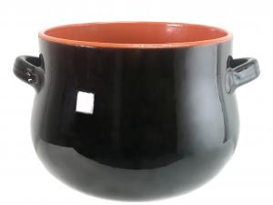 DE SILVA Pentola ceramica marrone bomb cm23 Pentole e preparazione cucina