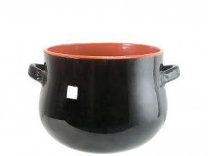 DE SILVA Pentola ceramica marrone bomb cm16 Pentole e preparazione cucina