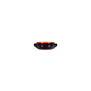 DE SILVA Casseruola 2 manici ceramica marrone cm12x5 Pentole Cucina