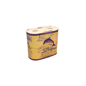 FOSCART Confezione 4 rot igienic delfino Arredo bagno e accessori