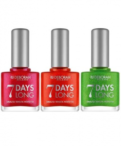 DEBORAH Smalto 7 Days Long 845 Blu Sky Foil Unghie Manicure E Pedicure