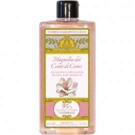 AMOVITA Magnolia Dei Conti Di Como Bagno Doccia Rilassante 500 Ml Prodotti Bagno
