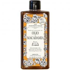 AMOVITA Olio Di Macadamia Bagno Doccia Nutriente 500 Ml Prodotti Bagno