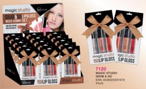 IDC INSTITUTE Confezione Regalo Trucco 7120 Lucidalabbra Make Up Labbra
