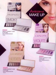 IDC INSTITUTE Violet Compact Case 6 Color I Make Up Trucco e Cosmetici