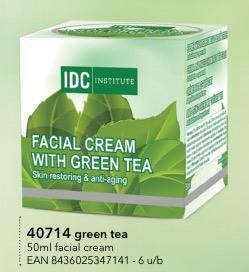 IDC INSTITUTE Crema Viso Tè Verde 50 Ml