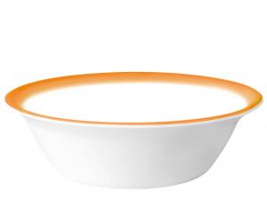 BORMIOLI ROCCO Set 6 Coppette Opale Fresh Fondo Arancio Cm17 Coppe Ciotole
