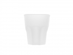 DEM Set 4 Bicchieri Polipropilene Shot 4 Cl Satinato Made In Italy