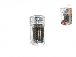 BISETTI Macinapepe acrilico trasparente cm8.5h Utensili da cucina