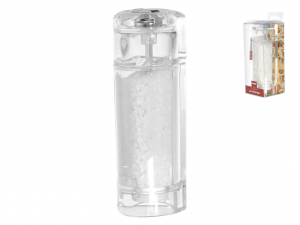 BISETTI Macinasale acrilico trasparente cm15h Utensili da cucina