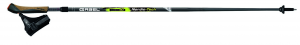 GABEL Bastoncini estensibili nordic walking NORDIC-TECH CARBON 110-125 cm nero xxx