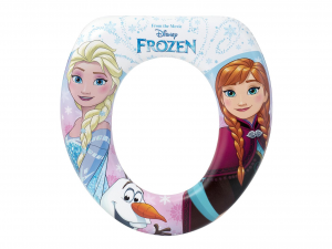 LULABI Riduttore WC Soft Disney Frozen New Plastica e Pvc Made in Italy