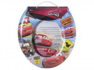 LULABI Riduttore WC Soft Disney Cars Nw Plastica e Pvc Articoli per bambini